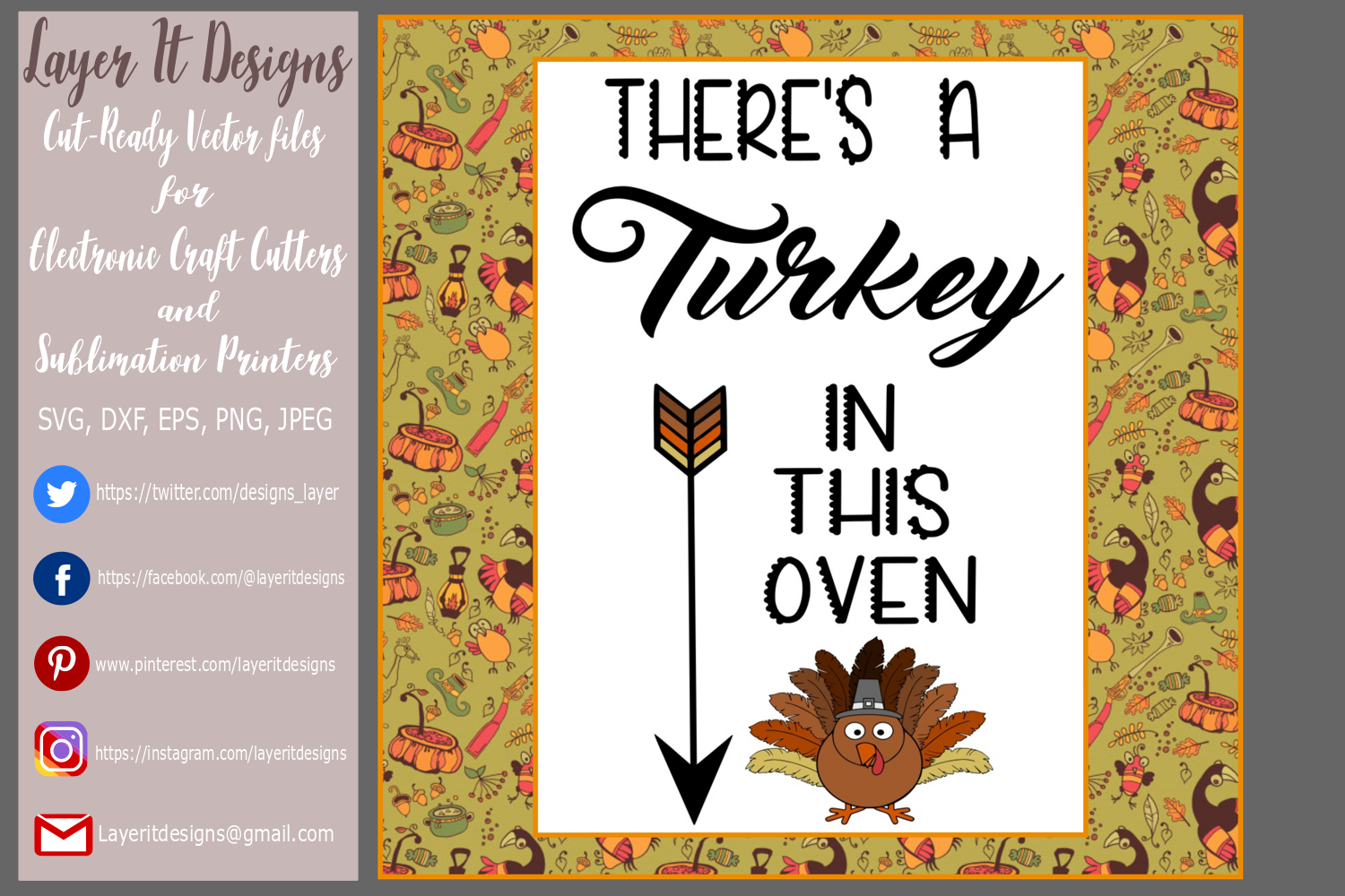 Thanksgiving Pregnancy T shirt Designs example image 4