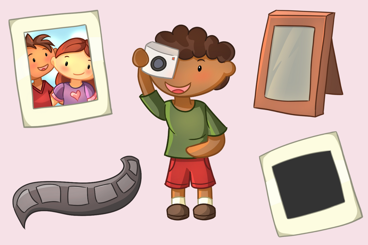 Cute Photography Illustrations example image 4