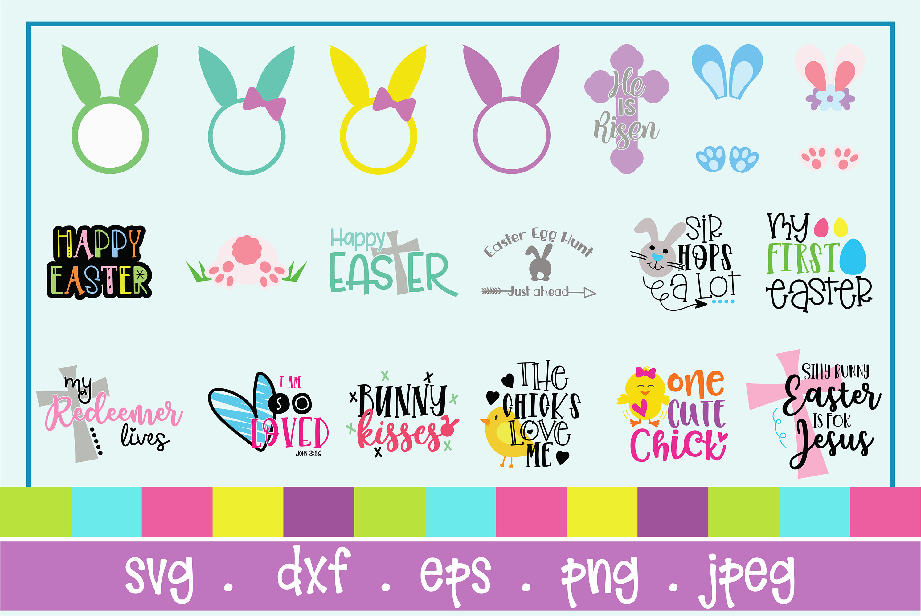 The Huge SVG Bundle Vol 2, 500 Cutting files, SVG, DXF,PNG example image 2