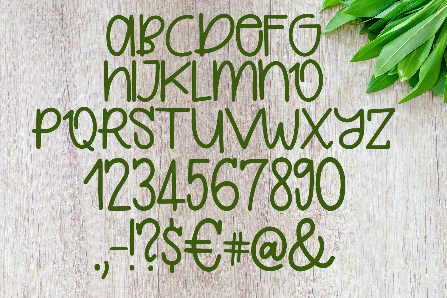 Quirkle - A Hand-Written Quirky Font example image 2