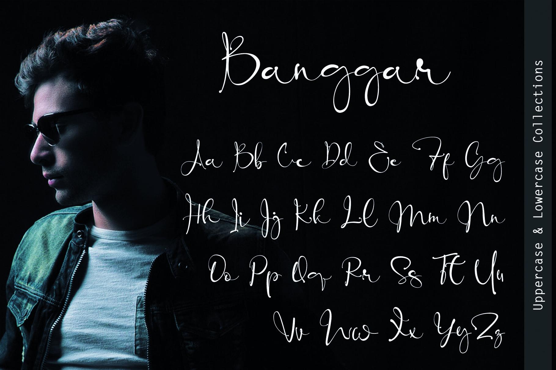 Banggar Signature Font example image 9