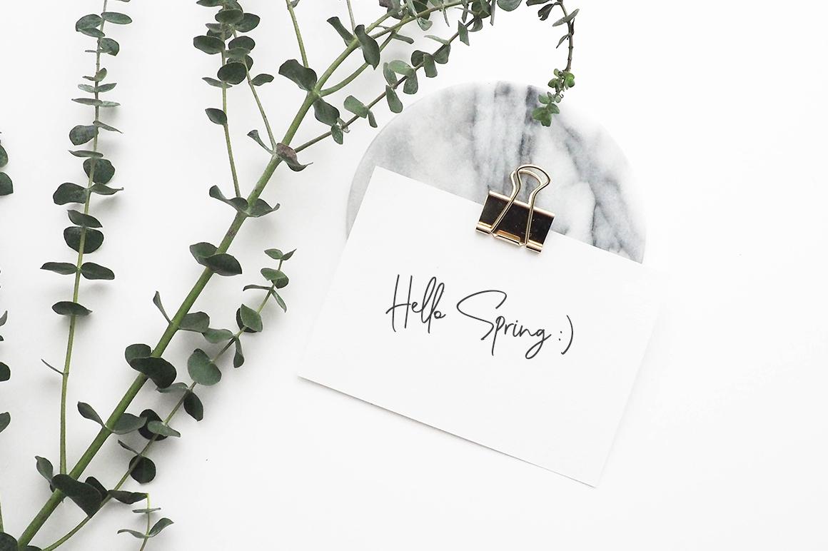 Genit - Classy Handwritten Script Font example image 9