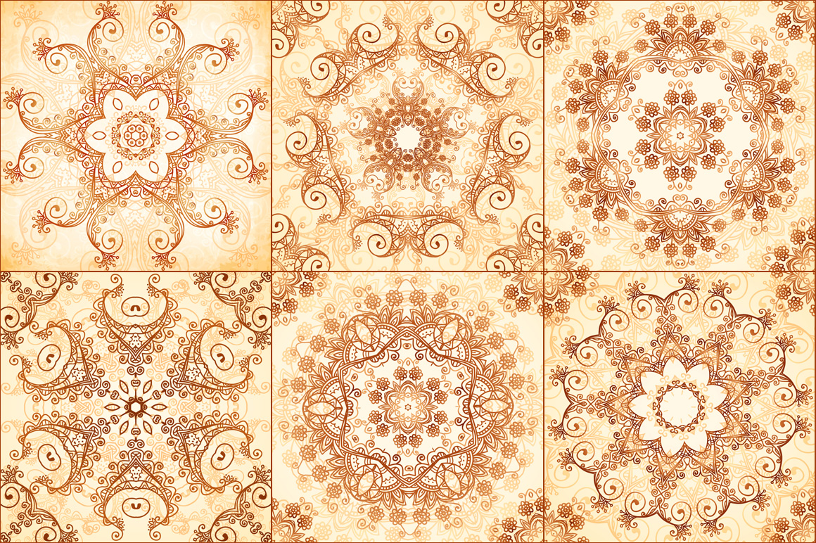 40 wonderful vintage vector patterns example image 2