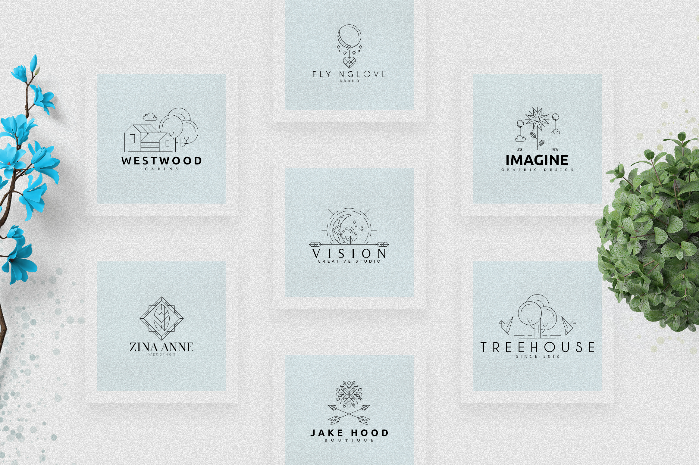 [Spring Vibes] 40 Boutique Logos example image 8