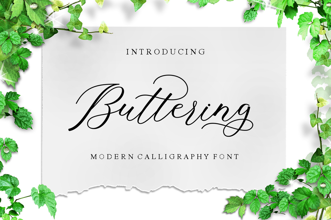 Buttering example image 1
