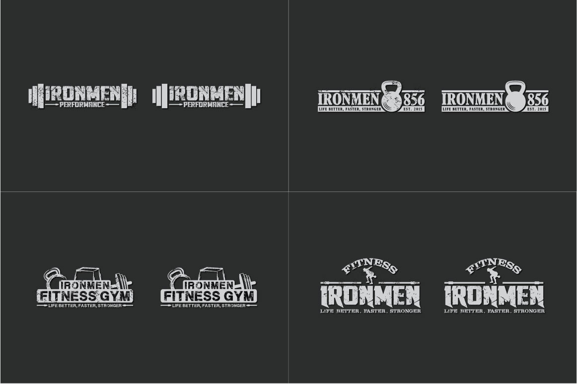 83 fitness gym bundle Logos Labels & Badges example image 9