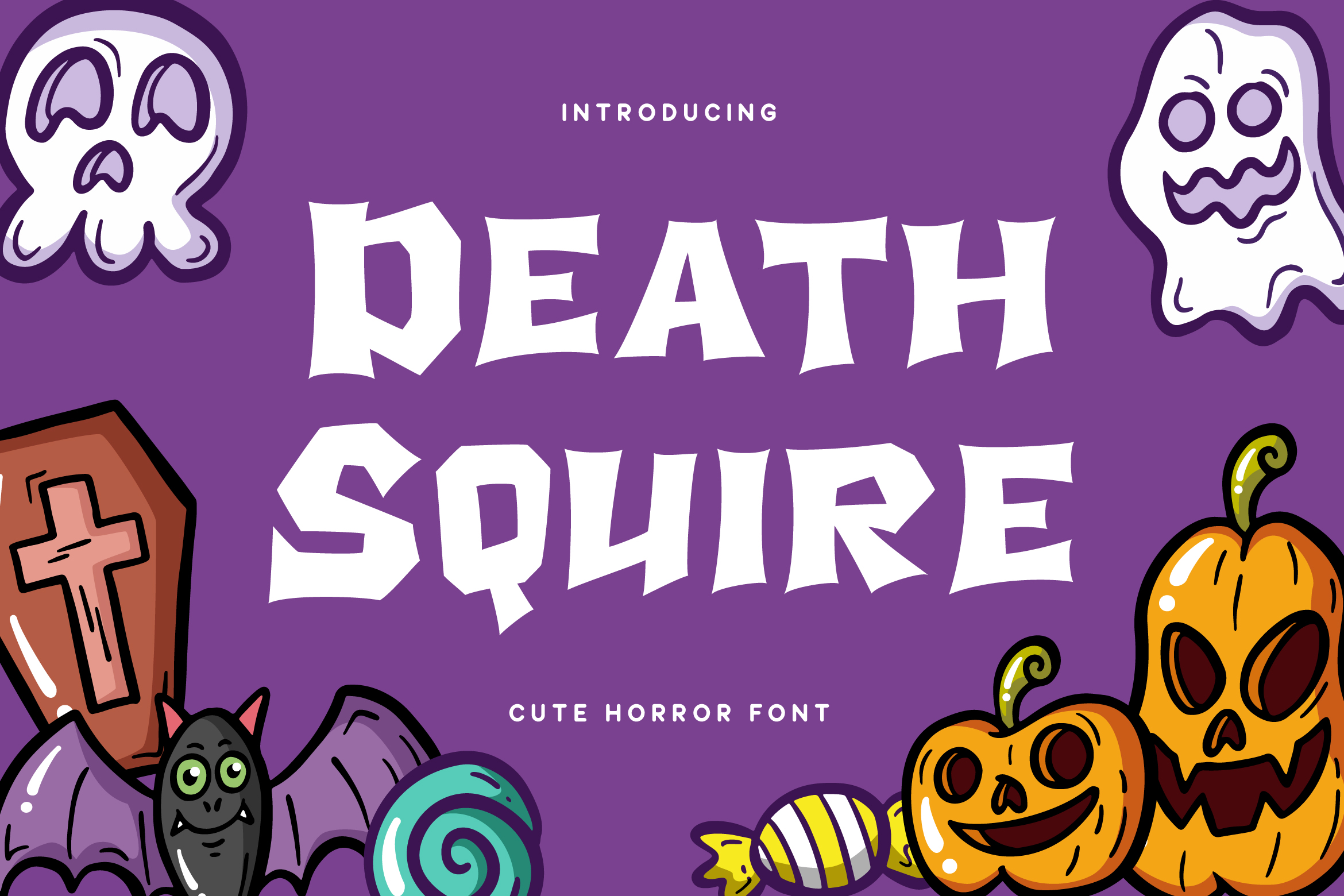Death Squire - Cute Horror Font example image 1