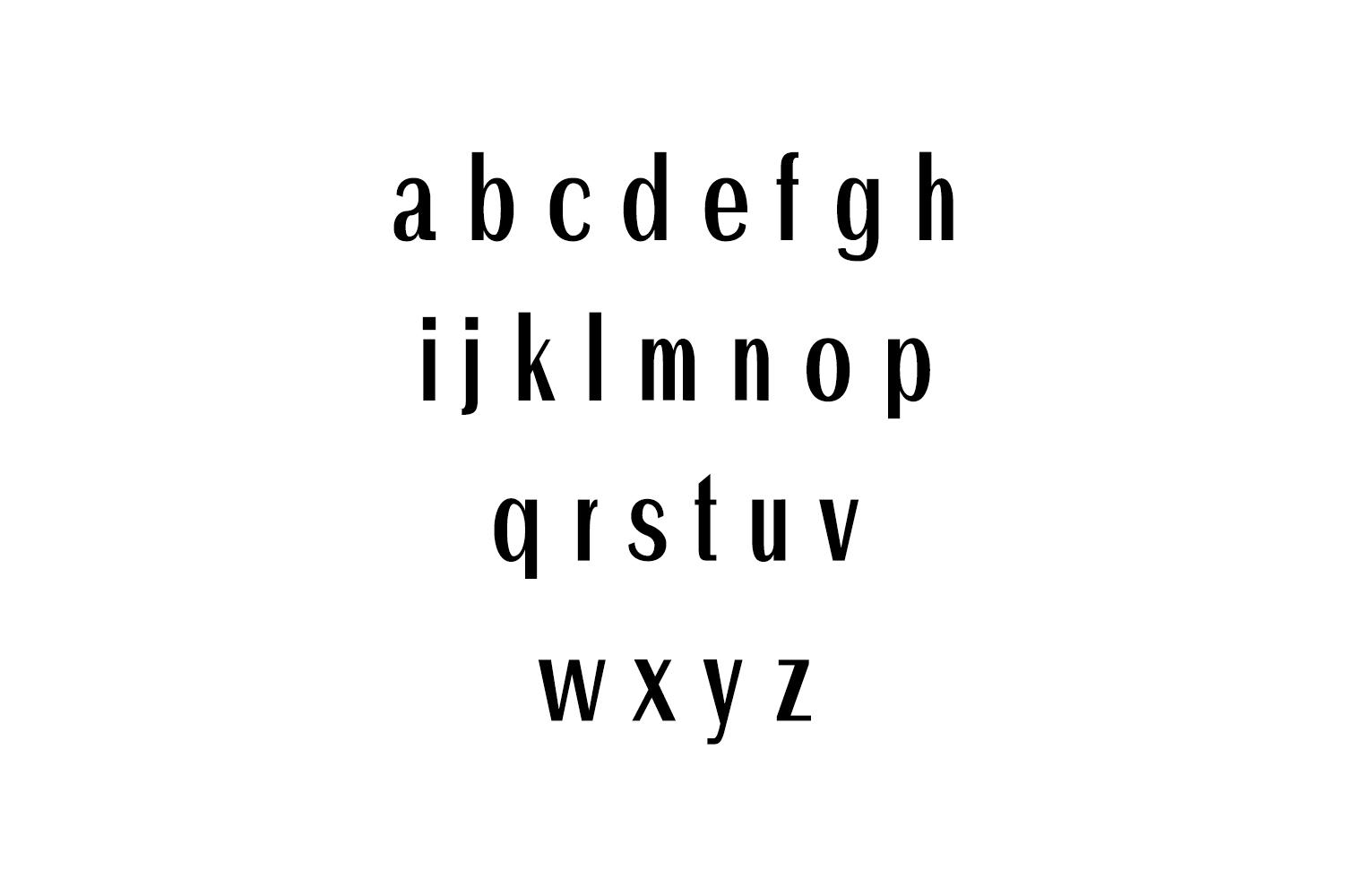 Ackley Beautiful Sans Serif Typeface example image 2