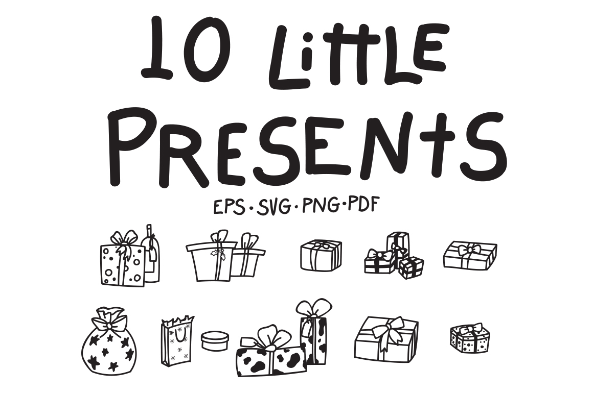 10 Little Presents example image 1