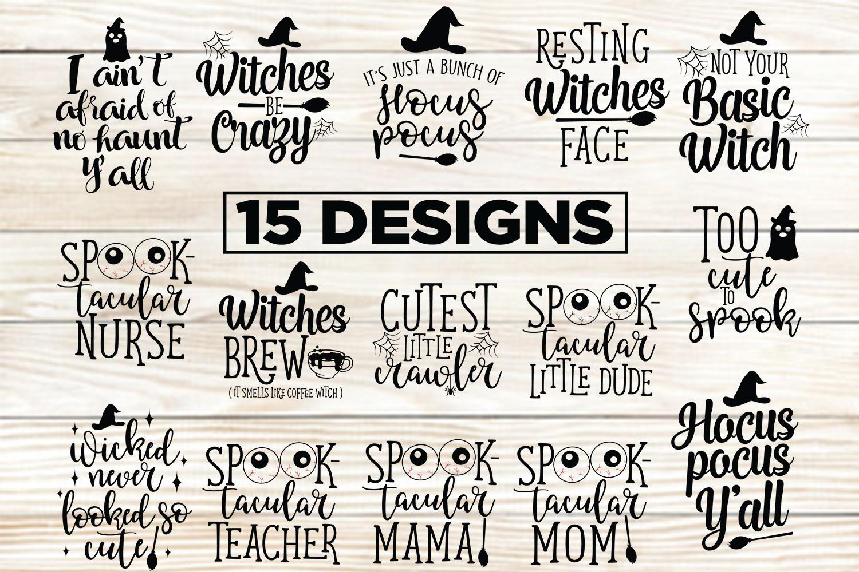 15 Halloween Designs 5 Halloween Printable example image 1