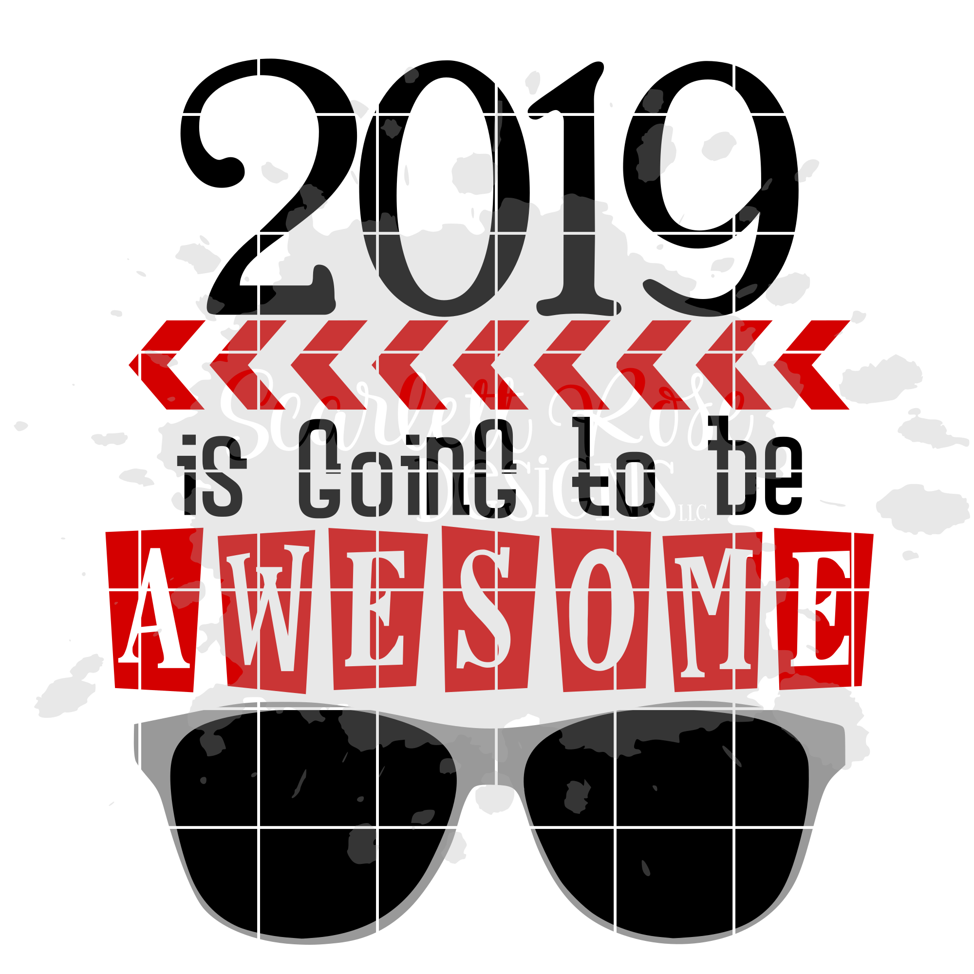 2019 is Going to be Awesome - New Year's SVG example image 2