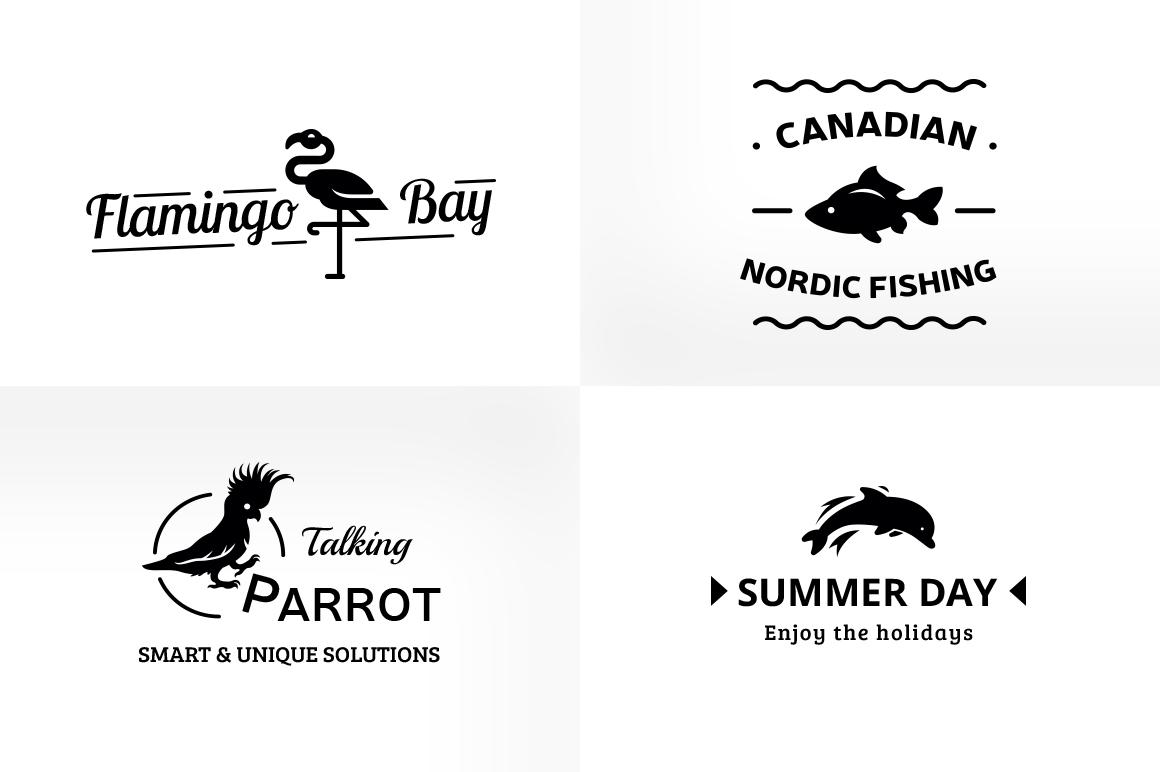 Vintage & Creative Animal Logo Badge example image 5
