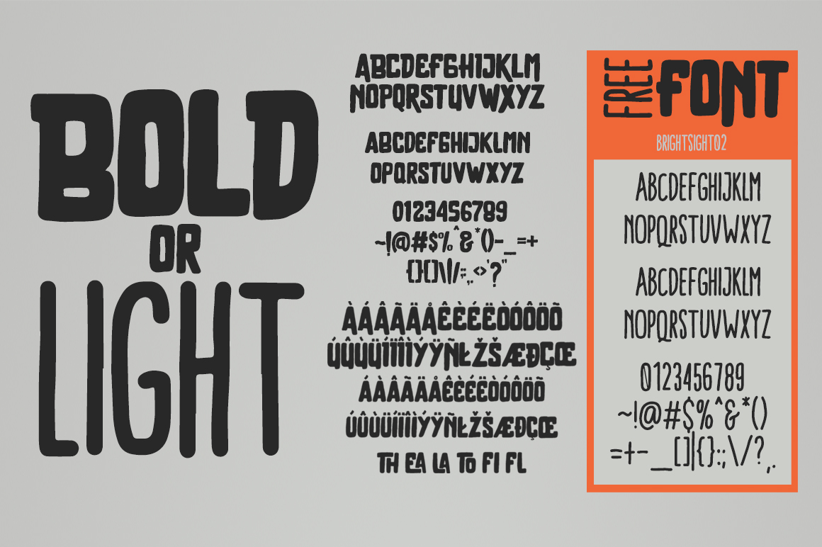Brother Typeface example image 5