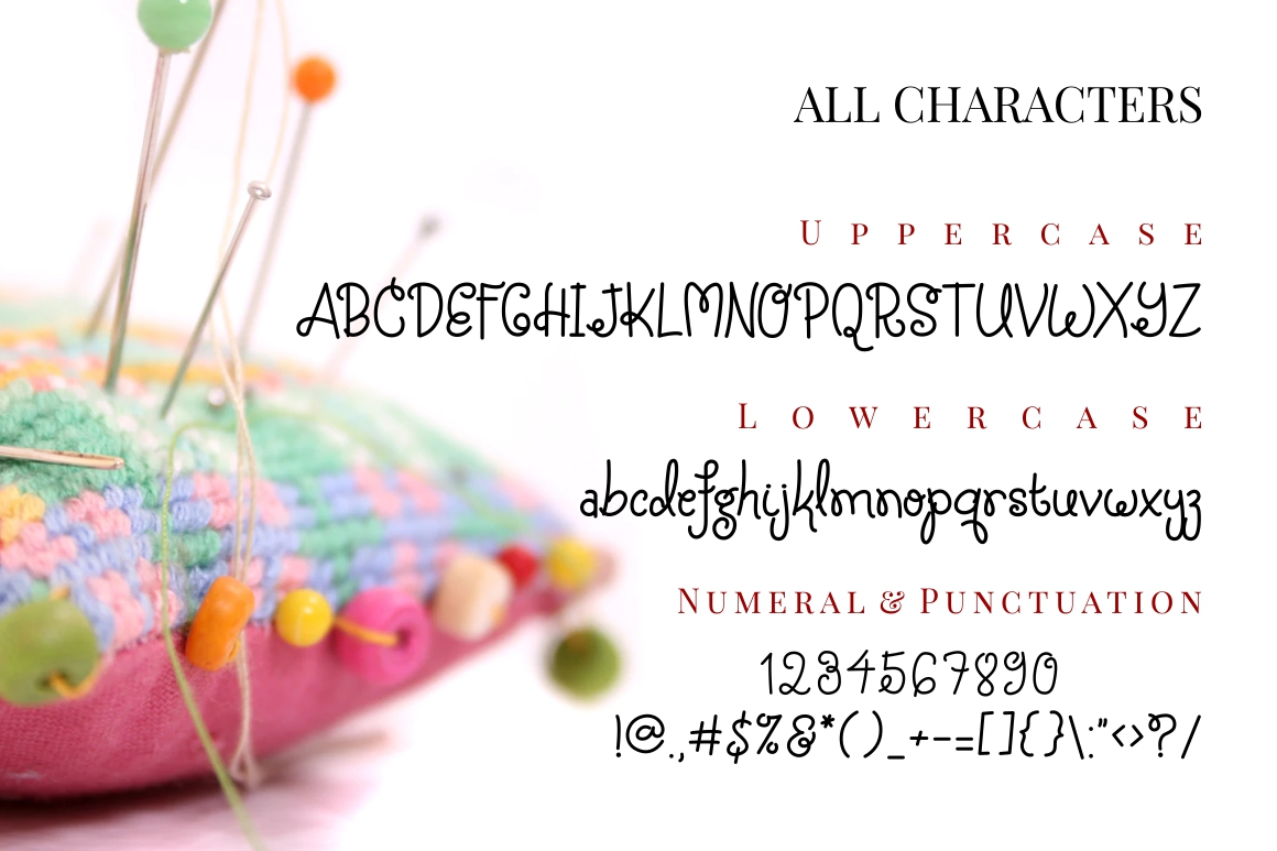 Silky Candy - Cute Sweet Font example image 3
