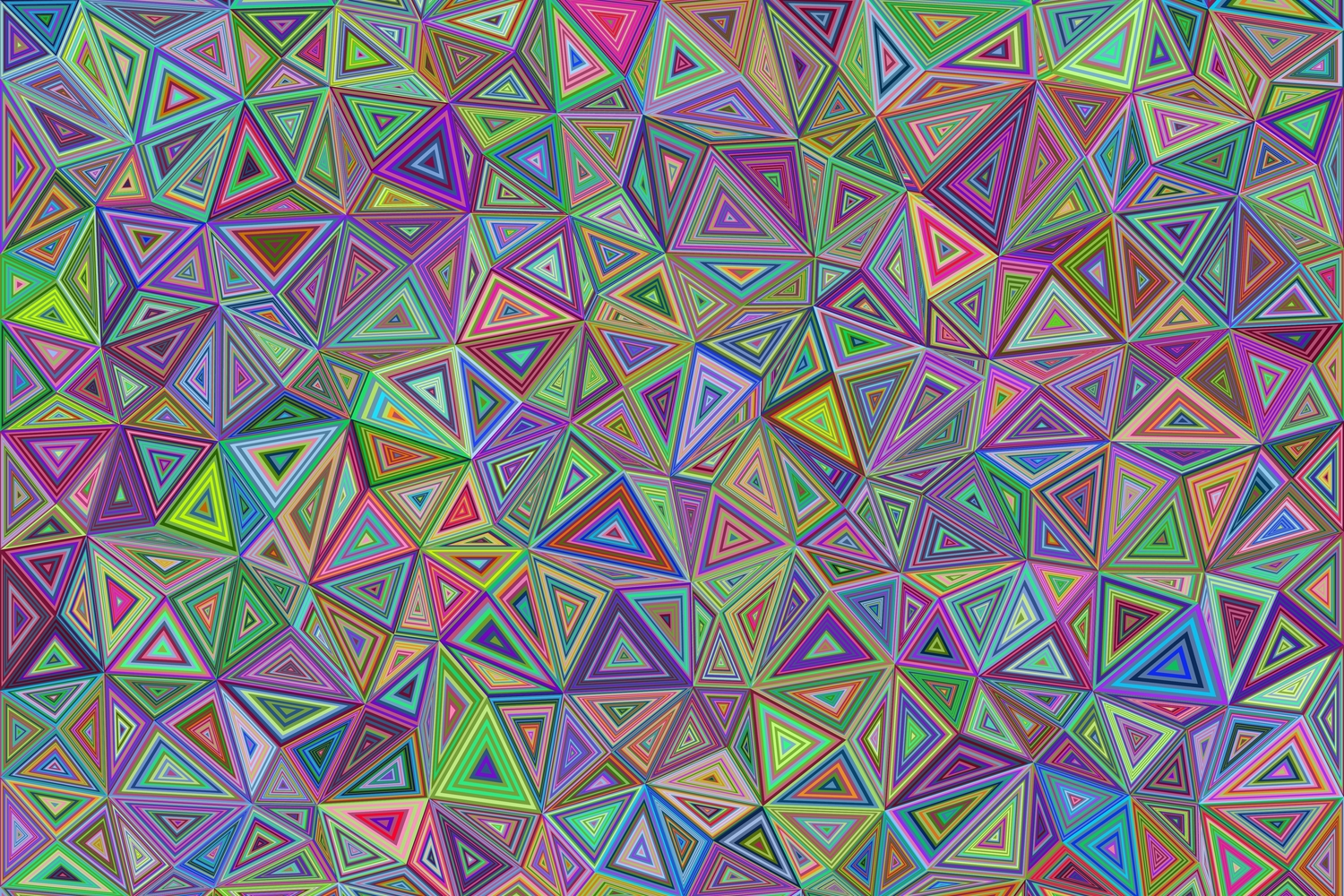 50 Colorful Triangle Backgrounds example image 2