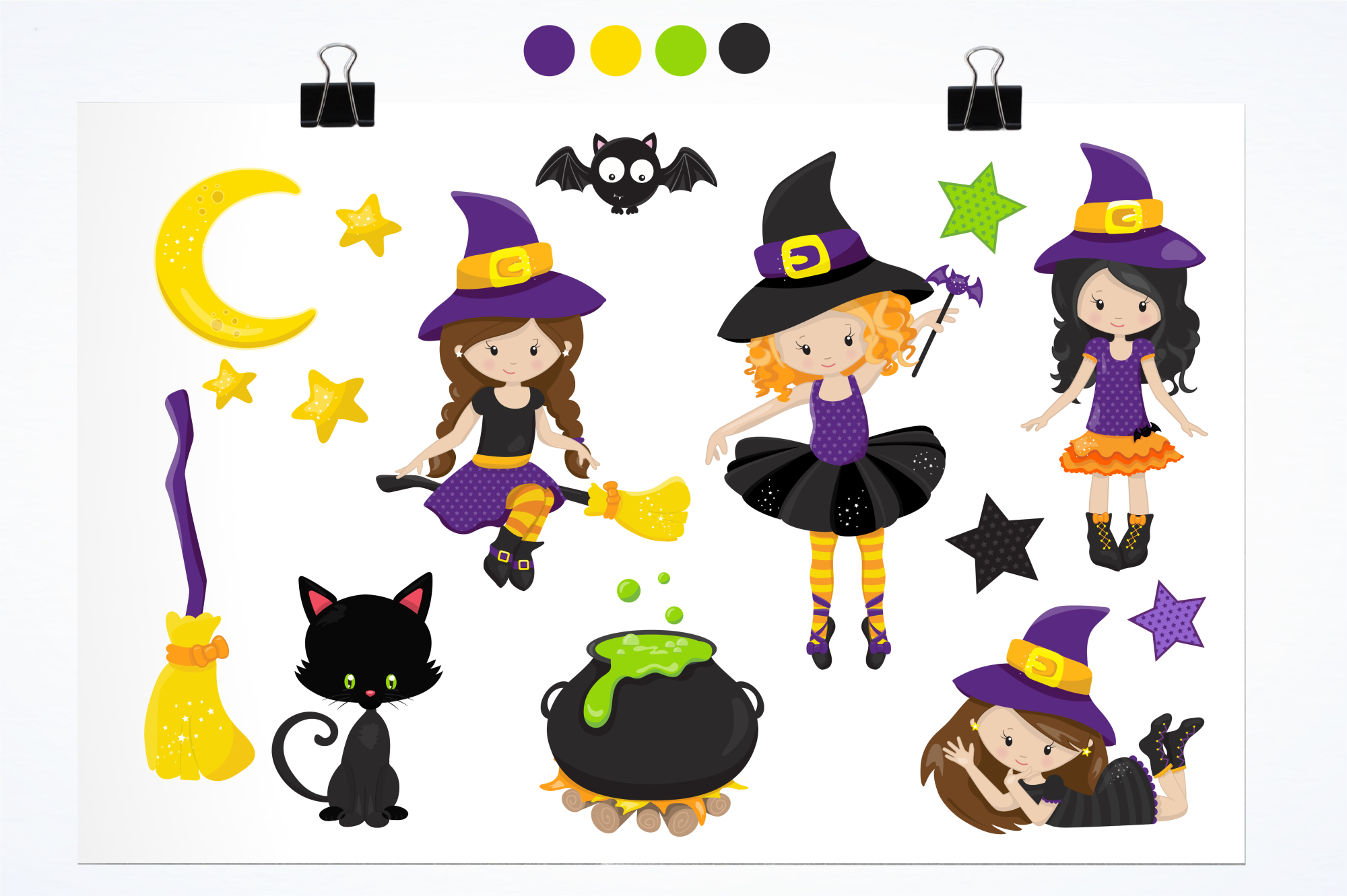 Tweeny Witch graphics and illustrations example image 2