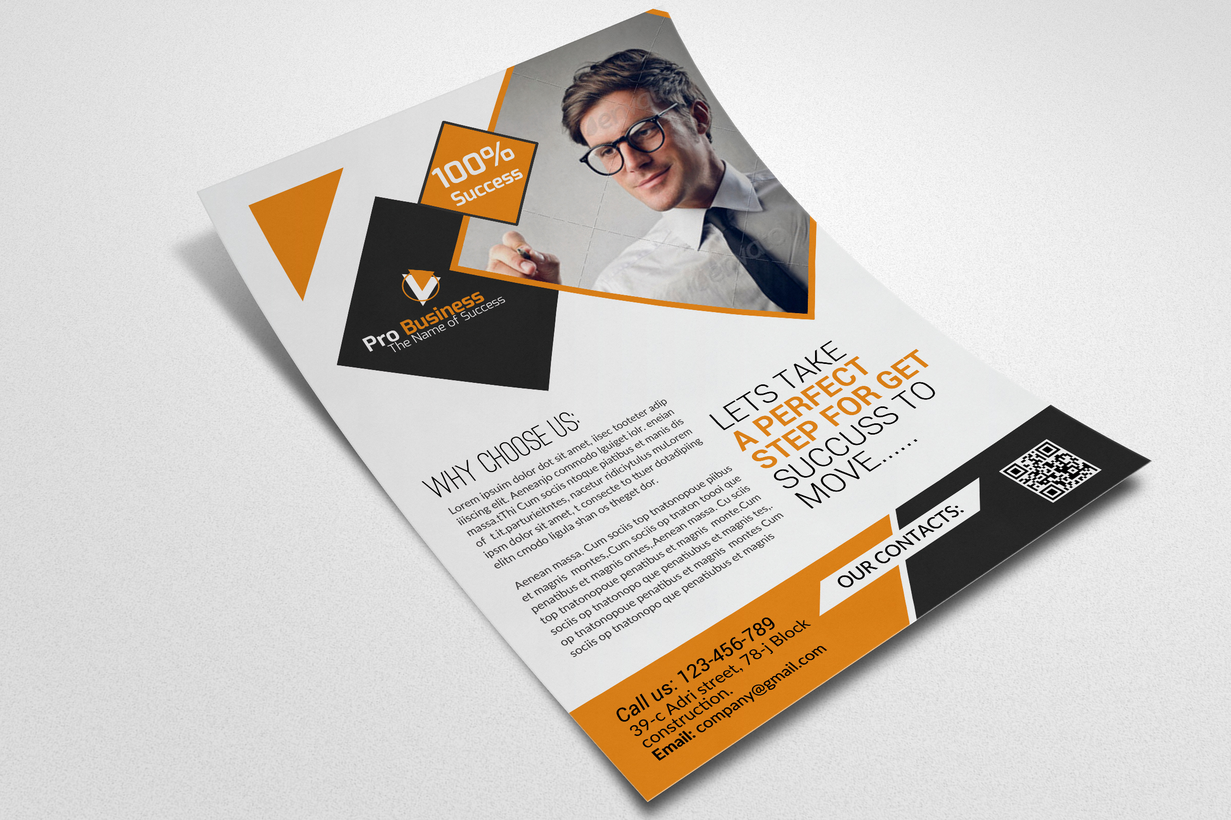 Business Dealing flyer Psd example image 3