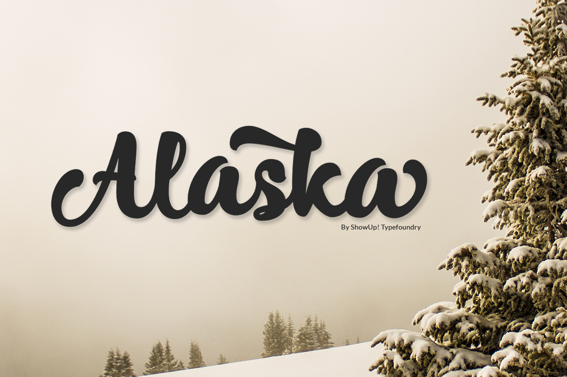Alaska Typeface (Update) example image 8