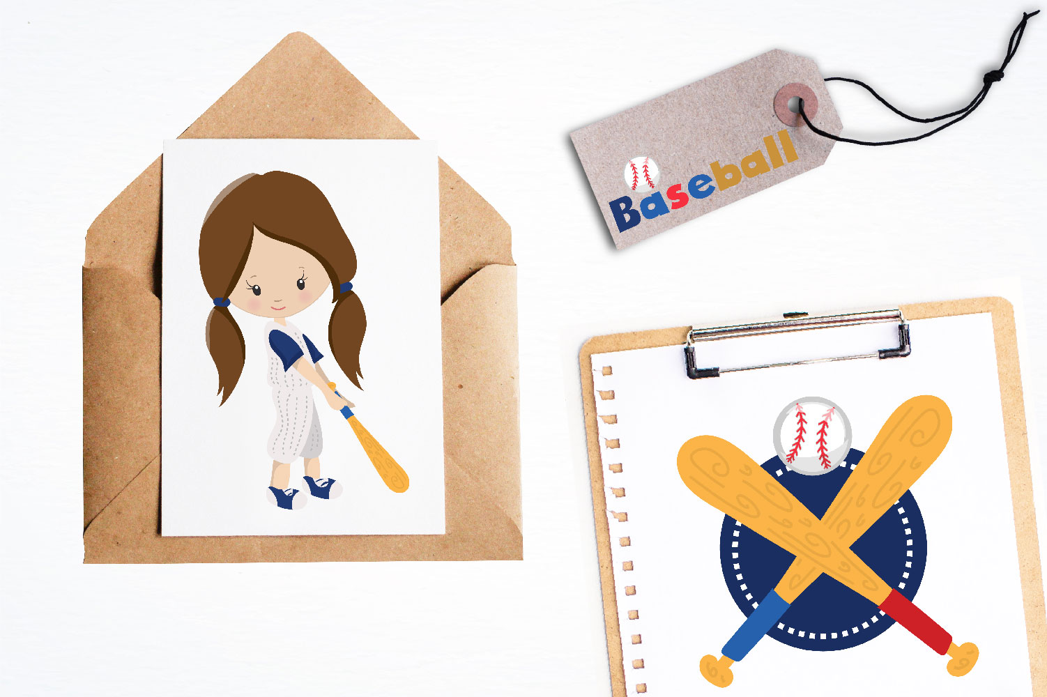 Baseball Cute Graphics example image 4