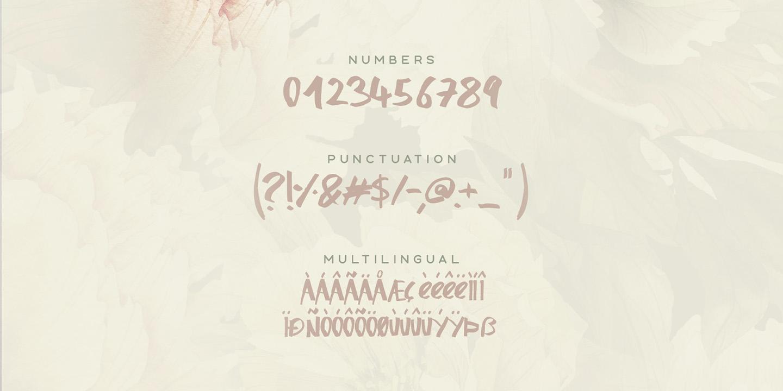 Honeysuckle Typeface example image 4