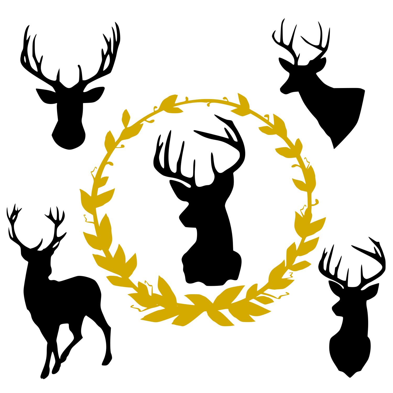 Deer svg example image 1