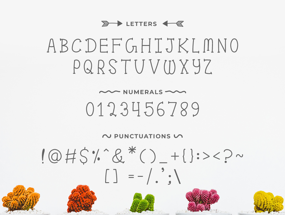 Pom Pom : Cute Handwritten font example image 3