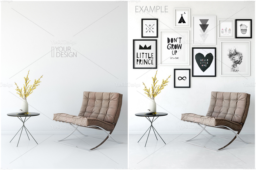 Wall Mockup - Bundle Vol. 1 example image 12
