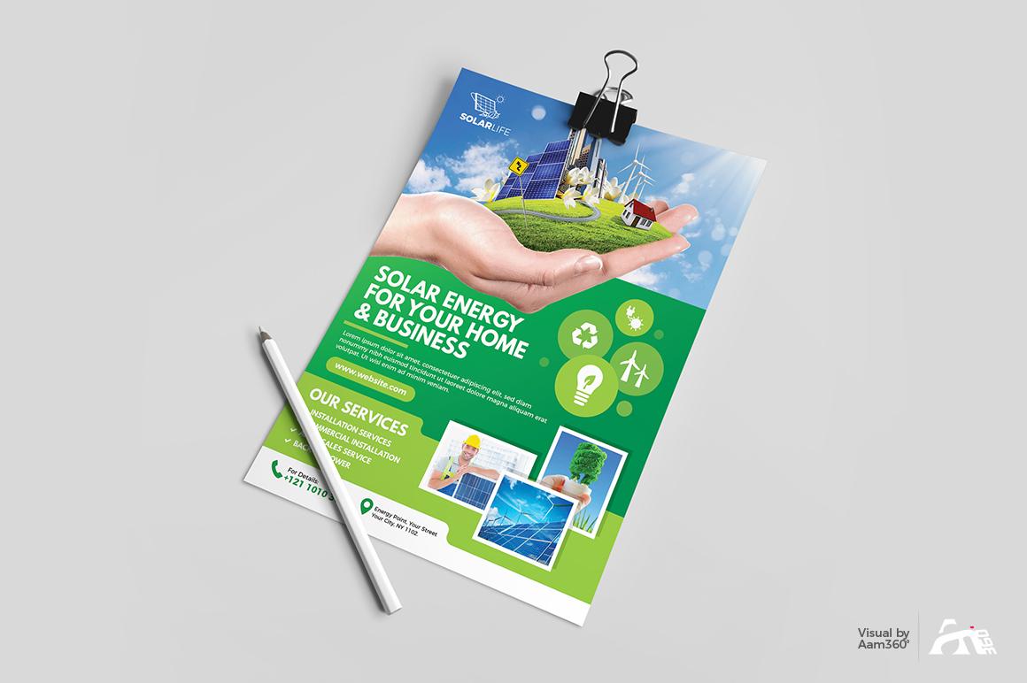 Green Energy Flyer example image 3