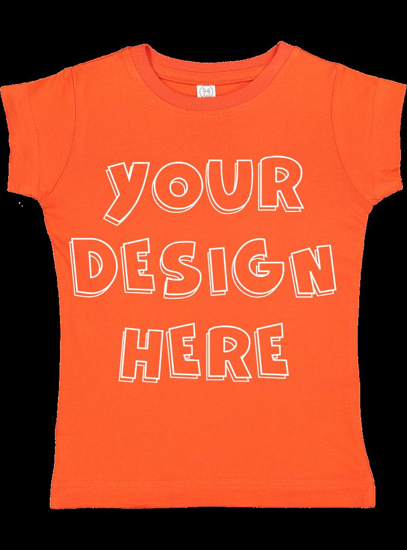 Toddler Gilrs Flat Jersey T Shirt Mockups - 17 example image 11