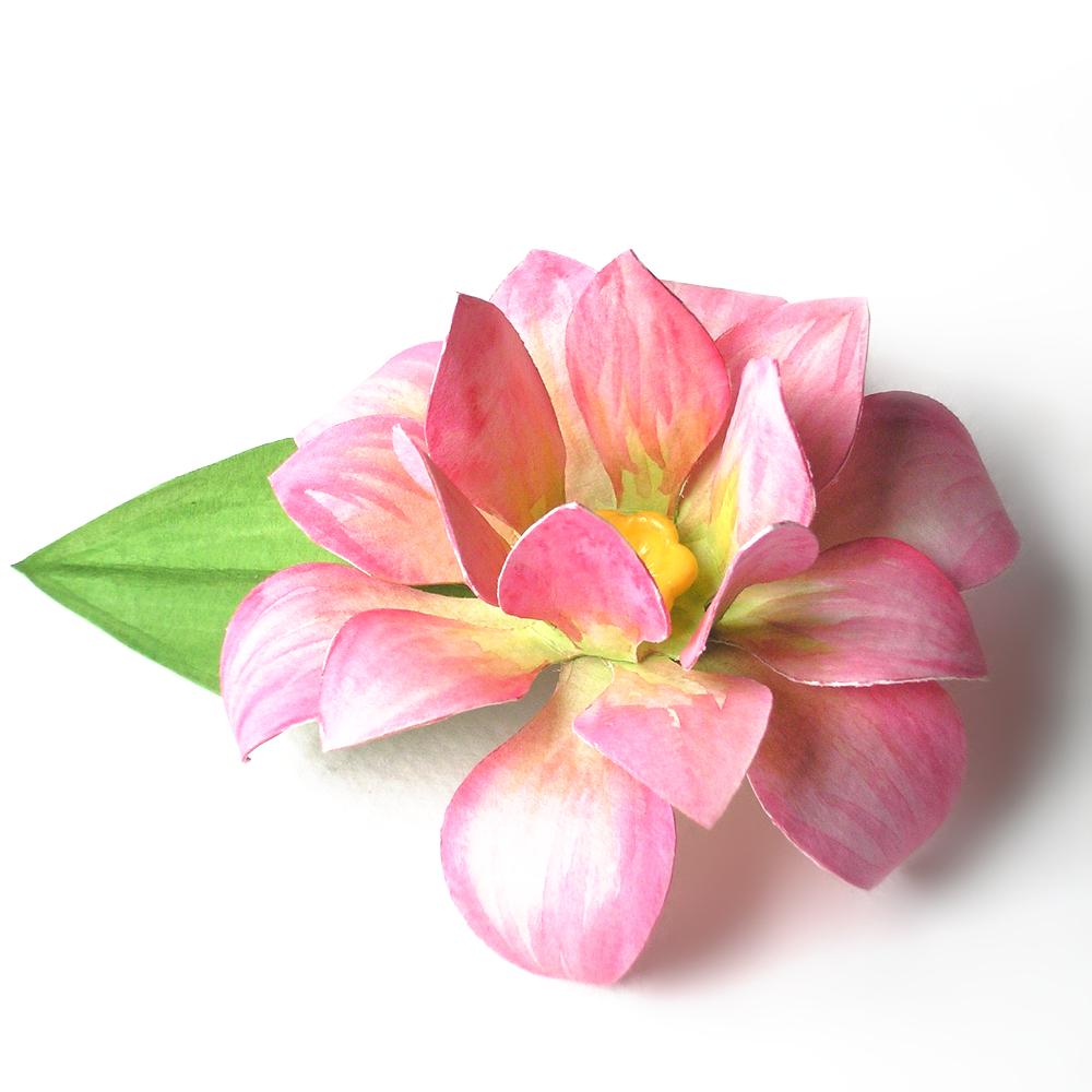 3d Lotus Flower Svg Design