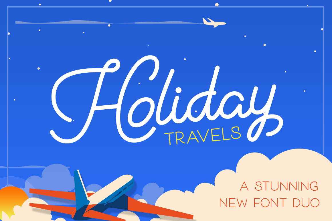 Holiday Travel Font Duo Download Font Free