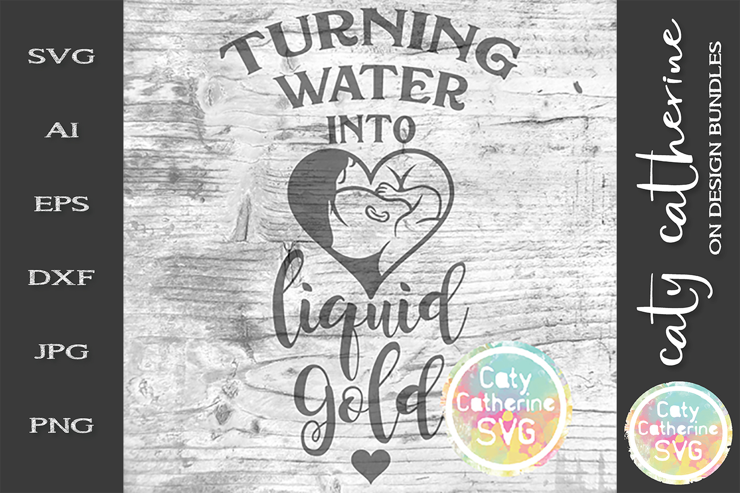 Turning Water Into Liquid Gold Breastfeeding Water Tracker example image 3