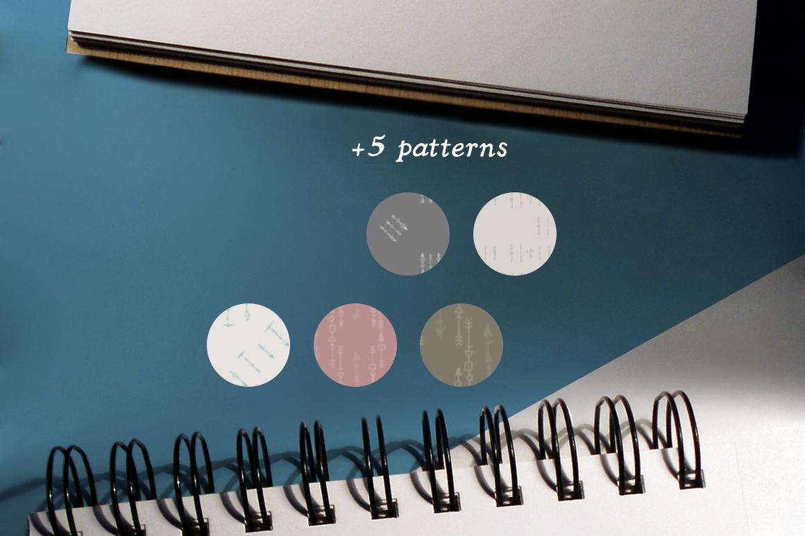 Boho-Chic Arrows & Deco Vectors example image 4