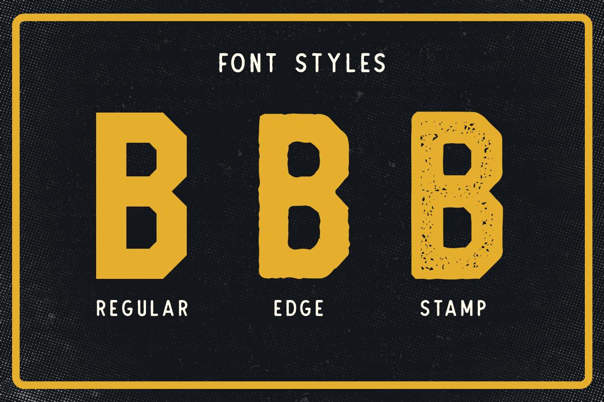 Barthon Typeface Combo (7Fonts)! example image 7