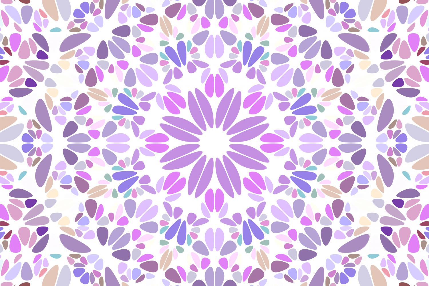 48 Floral Mandala Backgrounds example image 20