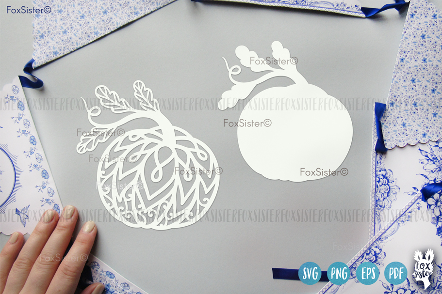 Pumpkin Svg Clipart Vector Cut File, Fall Svg, Halloween Svg example image 2