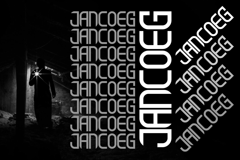 JANCOEG - BOLD FONT example image 4