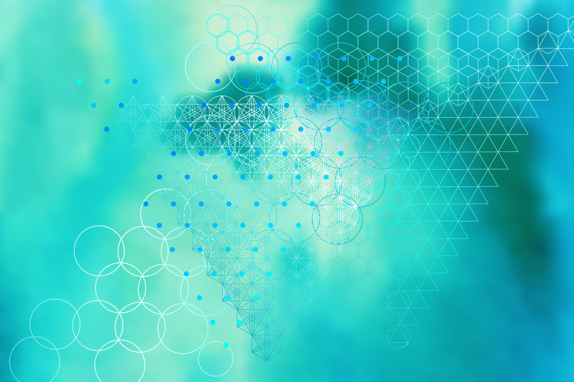 {Sacred Geometry} Vector Backgrounds example image 2