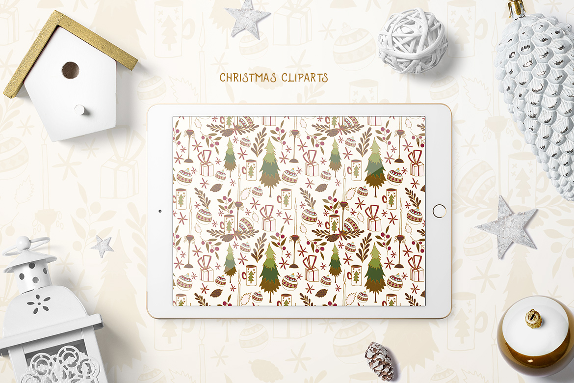 Christmas Cliparts example image 4