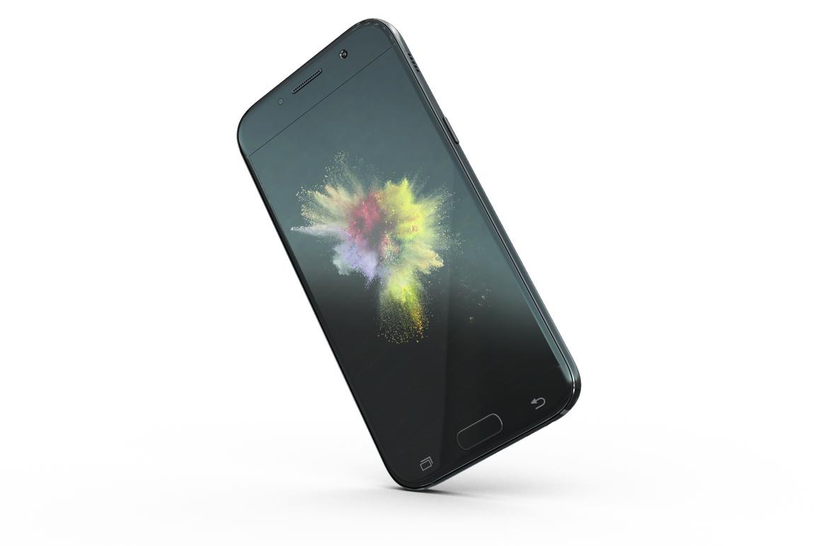 Samsung Galaxy A7 Mockup example image 11