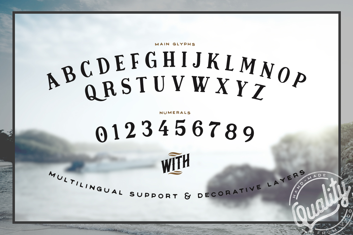 Midnight Owl Display Font example image 2