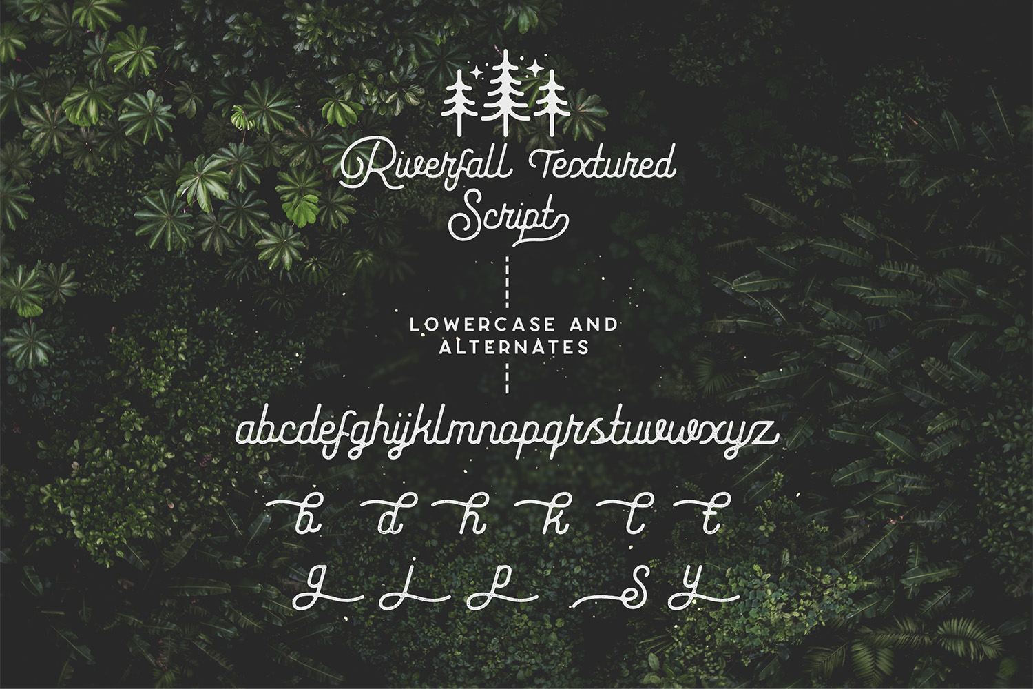 Riverfall Rounded Textured Typeface Ver.1 example image 12