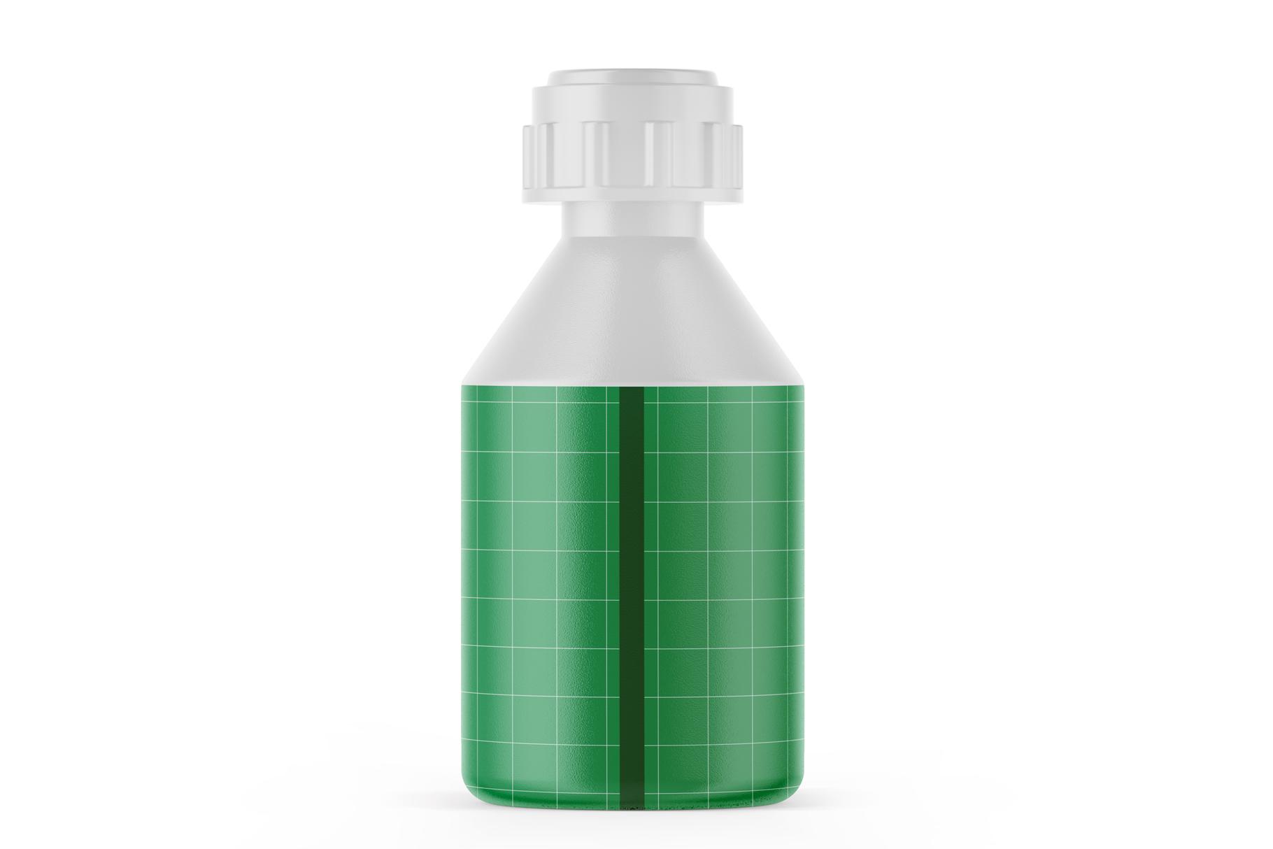 Matte Plastic Bottle Mockup example image 2