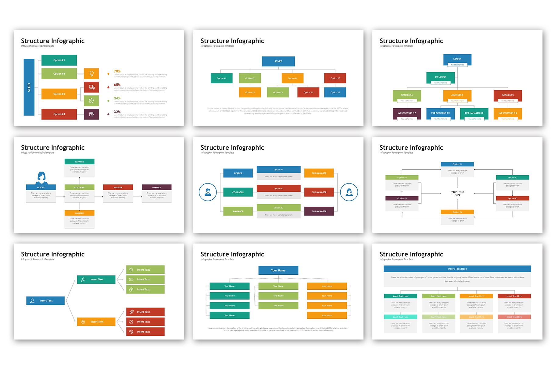 Structure Presentation - Infographic Template example image 5