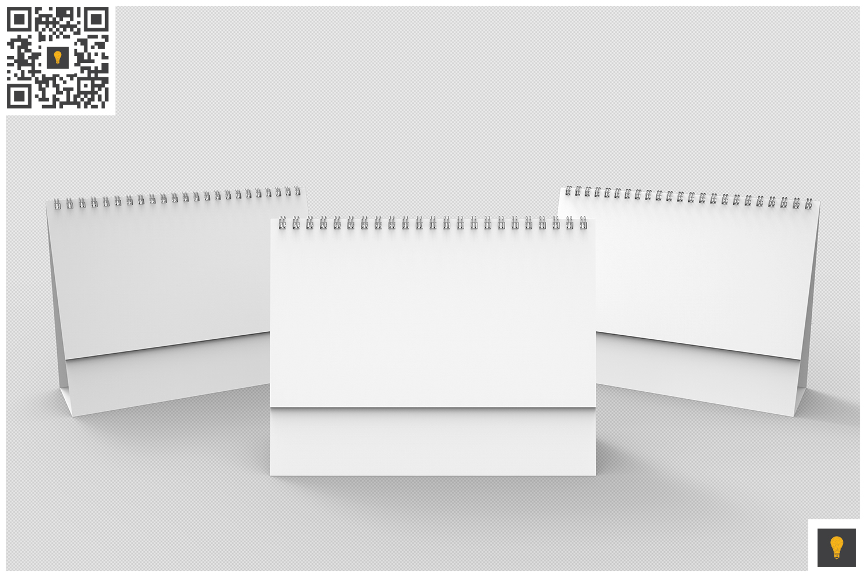 Desktop Calendar 3D Render example image 4