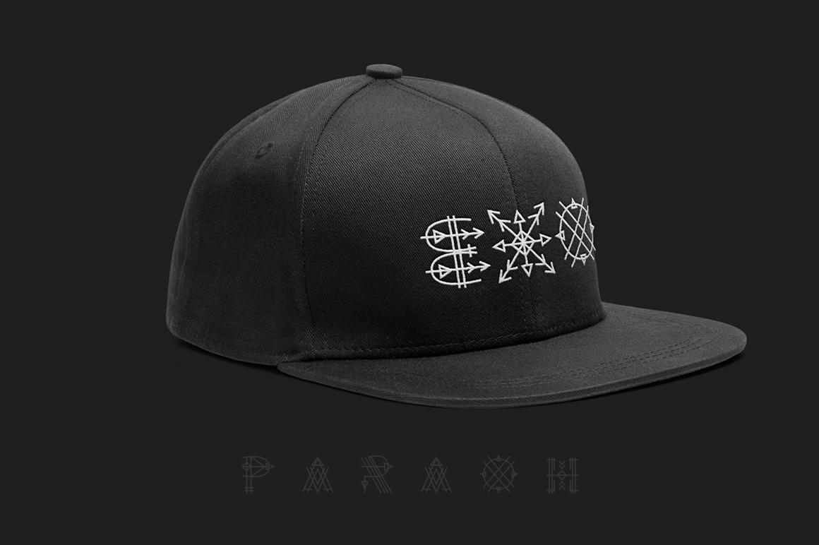 Paraoh - Sacred Font example image 5