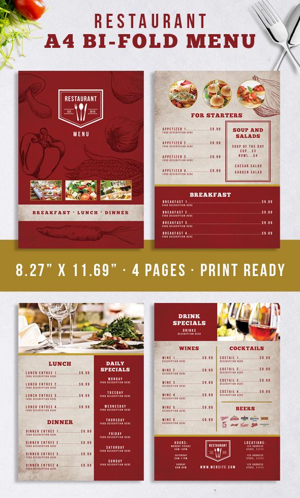 Restaurant Identity Bundle example image 5