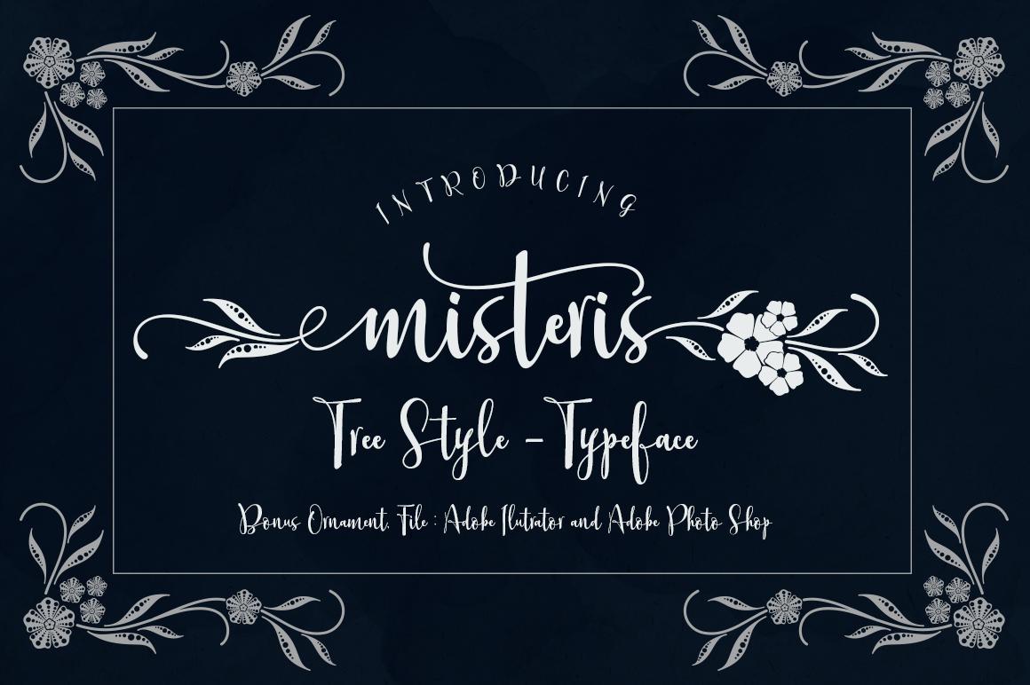 Misteris (3 Styles+Ornmt) example image 1