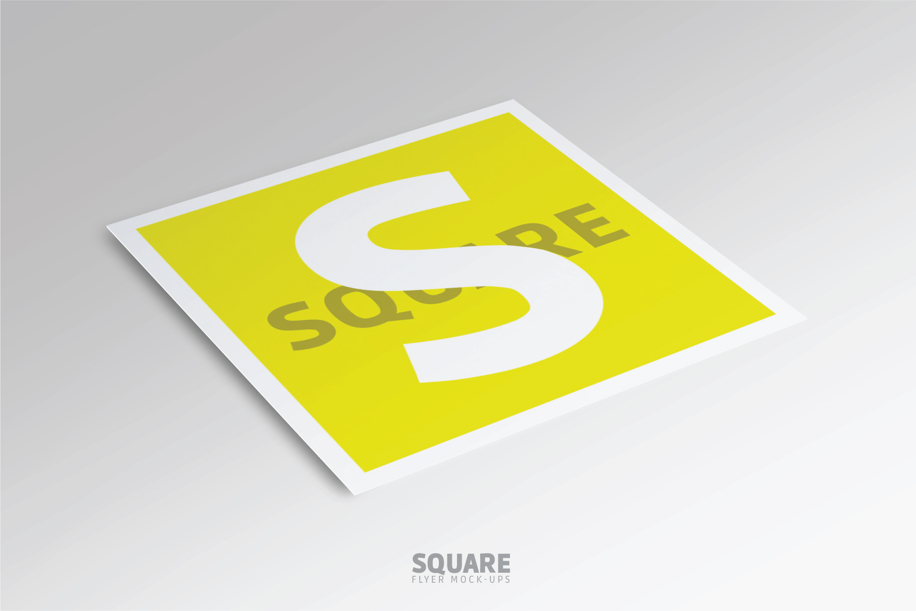 Square Flyer Mock-Up example image 3