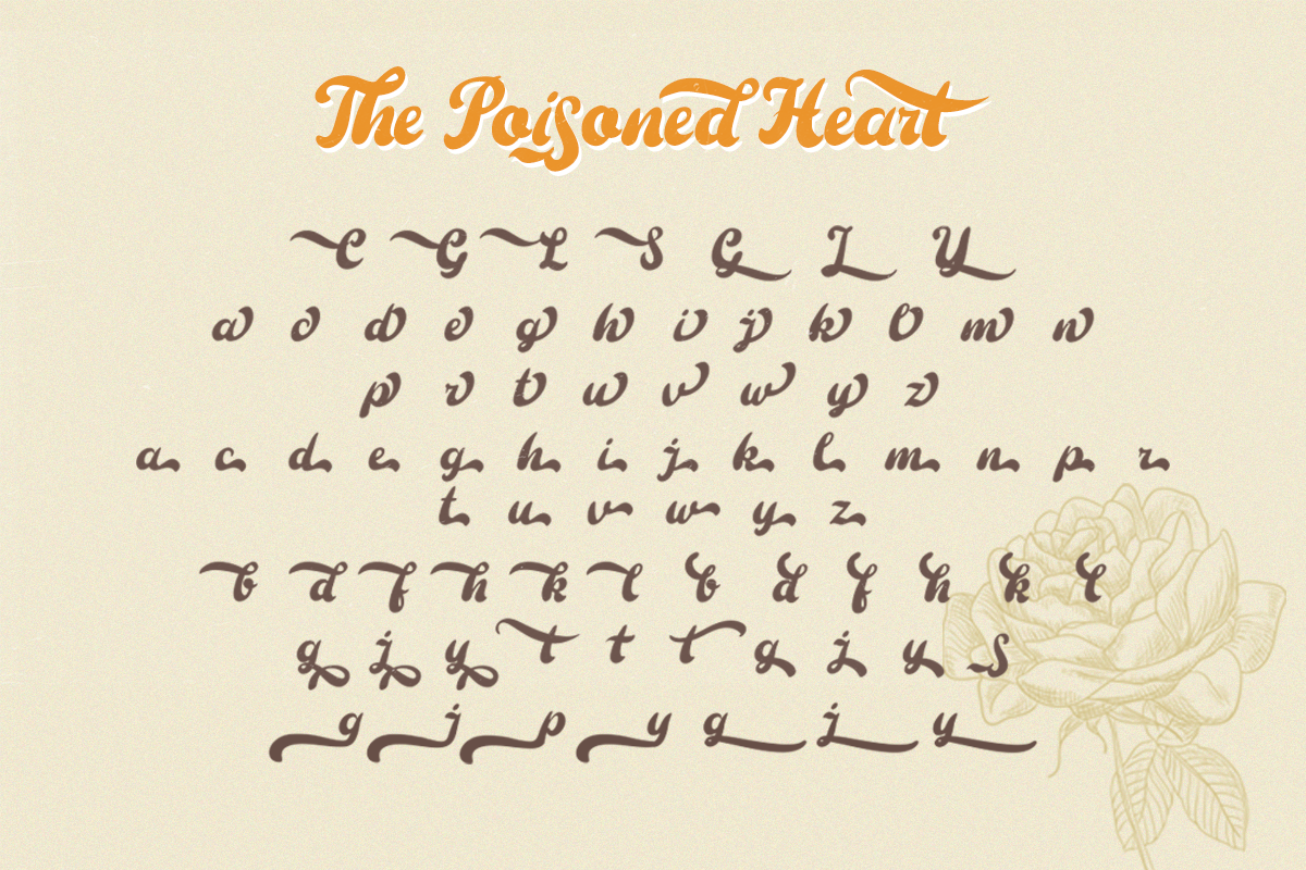 The Poisoned Heart Script example image 10